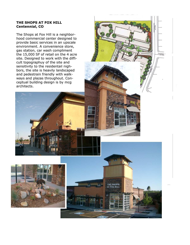 retail- Fox Hill